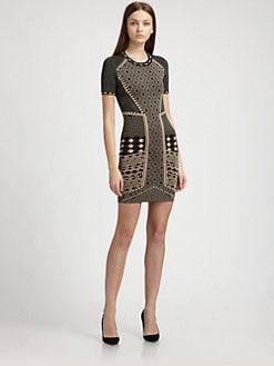 Torn - Candy Tribal Jacquard Dress