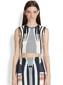 Clover Canyon - Desert Home Neoprene Crop Top