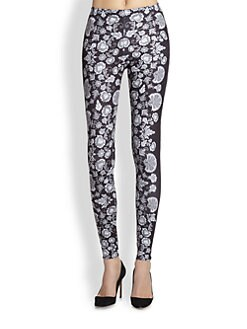 David Lerner - Kyoto Floral-Print Leggings