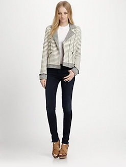 Ella Moss - Salinas Striped Jacket