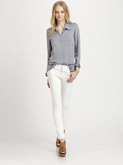 Ella Moss - Jackson Lace-Trim Shirt