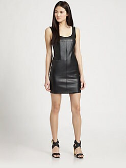 Bailey 44 - Metador Leatherette Scoopback Dress
