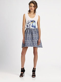 The Man Repeller x PJK - George Unicorn Slub Tank