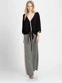 Ella Moss - Stella Tie-Front Dolman Tee