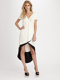 Parker - Nova Silk Hi-Lo Dress