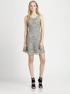 Parker - Key Mesh-Trim Dress