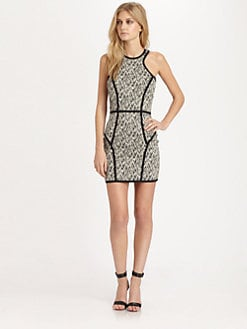 Parker - Palms Piped Dress