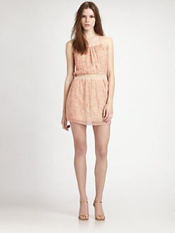 Parker - Amelie Sequin Silk Dress