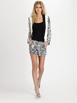 Parker - Reef Printed Silk Jacket