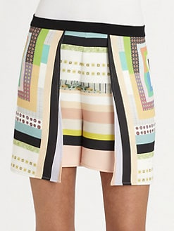 Clover Canyon - Urban Quilt Shorts