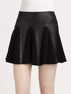 AIKO - Clarice Fit-and-Flare Skirt