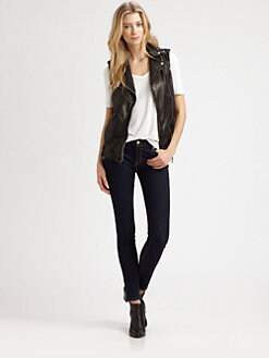 Mackage - Frederica Distressed Leather Vest