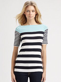 Bailey 44 - Seahorse Nautical Jersey Top