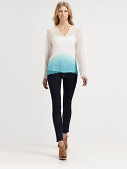 Bailey 44 - Tetra Ombre Silk Top