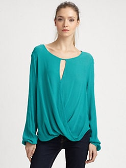 Ella Moss - Stella Draped Blouse
