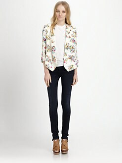 Ella Moss - Citrus-Floral Blazer