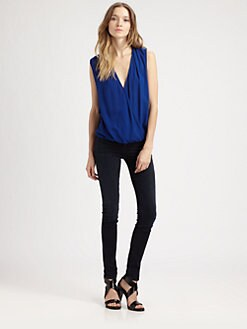 Ella Moss - Stella Draped Surplice Top