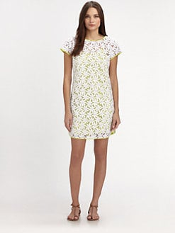Whit - Embroidered Floral Dress
