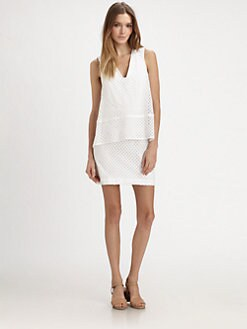 Whit - Eyelet Layered Dress