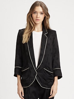 Smythe - Jacquard Pajama Blazer