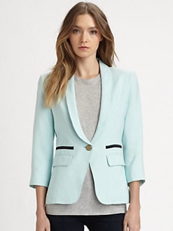 Smythe - Shawl-Collar Blazer
