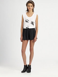The Man Repeller x PJK - George Slub Tank