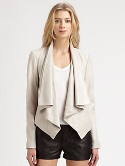 Mackage - Rihane Shiny Suede Jacket