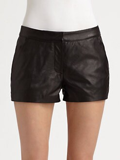 Mackage - Havana Distressed Leather Shorts
