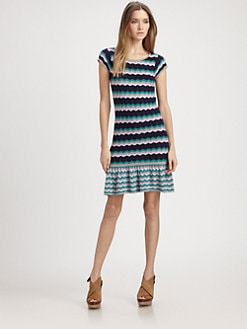 Design History - Zigzag Knit Dress
