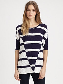 Design History - Striped Cotton Sweater