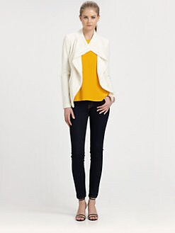 ADDISON - Rivington Cotton Eyelet Jacket