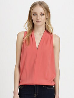 Ramy Brook - Robi Stretch Silk BlousonTop