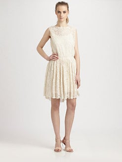 Sam & Lavi - Bernadette Duchess Lace Dress