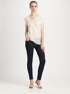 Sam & Lavi - Bijou Duchess Lace Top