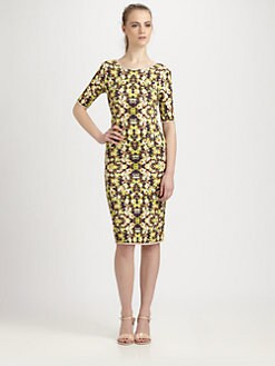 Sam & Lavi - Sina Floral-Print Jersey Dress