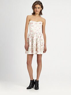 The Man Repeller x PJK - Aurora Bustier Dress