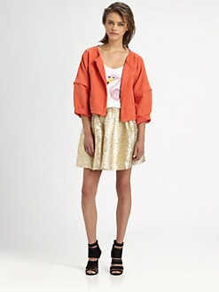 The Man Repeller x PJK - Lucille Jacquard Jacket