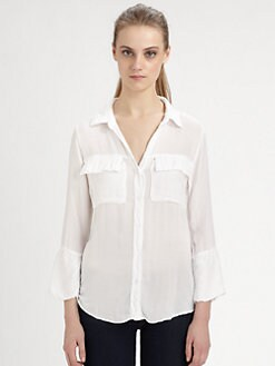Bella Dahl - Pocket Shirt