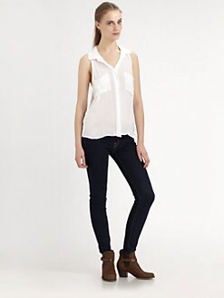 Bella Dahl - Split-Back Pocket Shirt