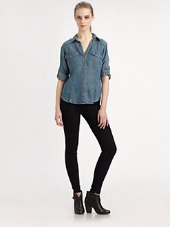 Bella Dahl - Aged Denim Shirt