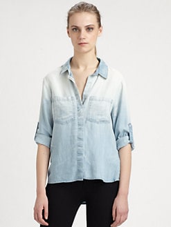 Bella Dahl - Ombre Denim Shirt