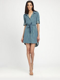 Bella Dahl - Denim Shirttail Dress