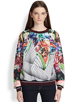 Clover Canyon - Sculpture Garden Printed Sweatshirt