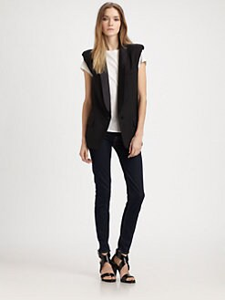 Smythe - Wool Tuxedo Vest