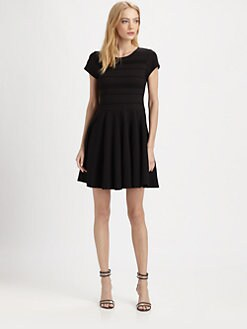 Parker - Tara Pleated Jersey Dress