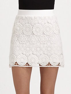 Design History - Chunky Lace Skirt