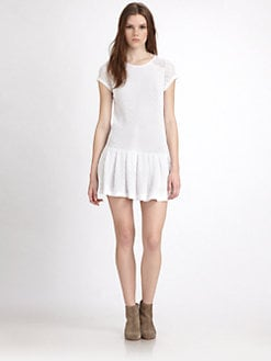Generation Love - Pleated Lace Dress