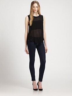PJK Patterson J. Kincaid - Iza Sheer Top & Bralette