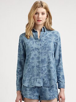 Stylestalker - Replicant Floral Chambray Shirt