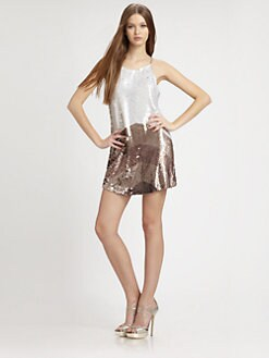 Parker - Sleeveless Sequined Dress